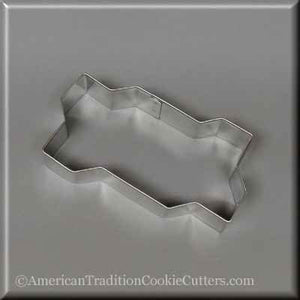 "4"" Zig-Zag Interlocking Brick Metal Cookie Cutter-americantraditioncookiecutters"