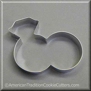 "4.5"" Double Engagement Wedding Rings Metal Cookie Cutter-americantraditioncookiecutters"