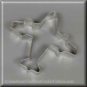 "3.75"" Airplane Metal Cookie Cutter"