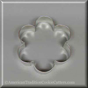 "4"" Scallop Edge Biscuit Metal Cookie Cutter-americantraditioncookiecutters"