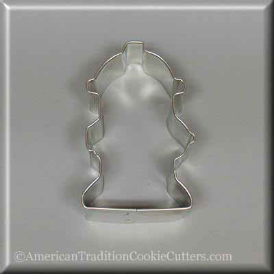 "3"" Fire Hydrant Metal Cookie Cutter"