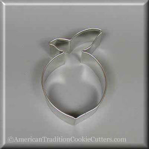 "3"" Peach Metal Cookie Cutter - American Tradition Cookie Cutters"