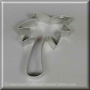 "3.75"" Palm Tree Metal Cookie Cutter - American Tradition Cookie Cutters"