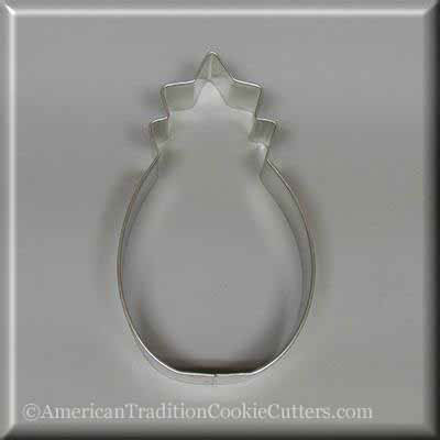 "5"" Pineapple Metal Cookie Cutter"