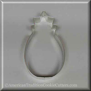 "5"" Pineapple Metal Cookie Cutter-americantraditioncookiecutters"