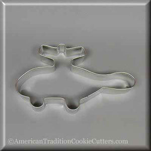 "5"" Helicopter Metal Cookie Cutter-americantraditioncookiecutters"