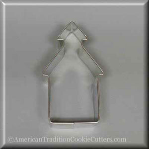 "3.5"" School House Metal Cookie Cutter - American Tradition Cookie Cutters"