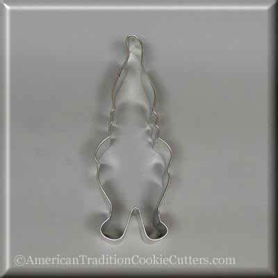 "5"" Gnome/Santa's Elf Metal Cookie Cutter"