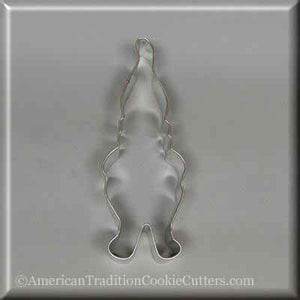 "5"" Gnome/Santa's Elf Metal Cookie Cutter-americantraditioncookiecutters"
