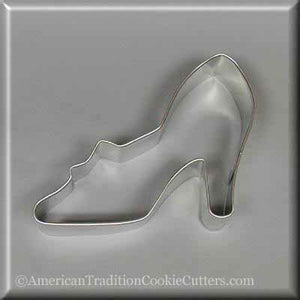 "4"" Shoe or Slipper With Bow Metal Cookie Cutter-americantraditioncookiecutters"