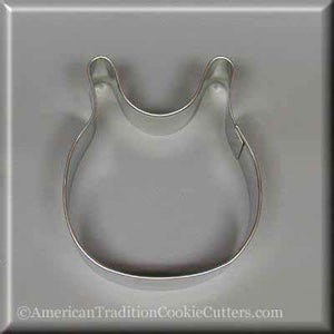 "3.25"" Baby Bib Metal Cookie Cutter - American Tradition Cookie Cutters"