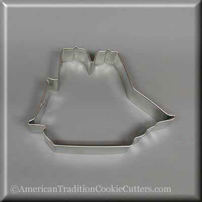 "4.25"" Sailing Ship Metal Cookie Cutter"