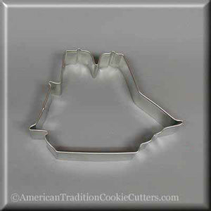 "4.25"" Sailing Ship Metal Cookie Cutter-americantraditioncookiecutters"