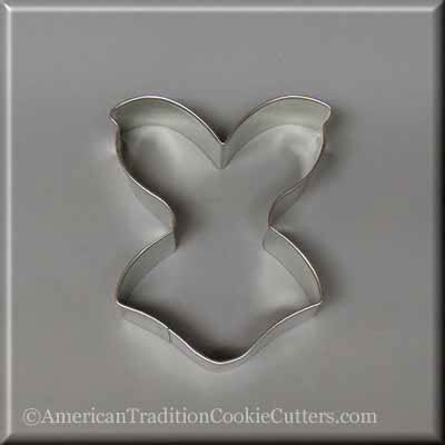 "4"" Corset Metal Cookie Cutter-americantraditioncookiecutters"