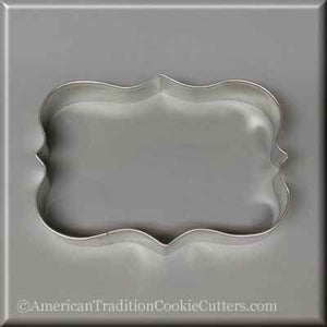 "5"" Plaque/Frame Metal Cookie Cutter-americantraditioncookiecutters"