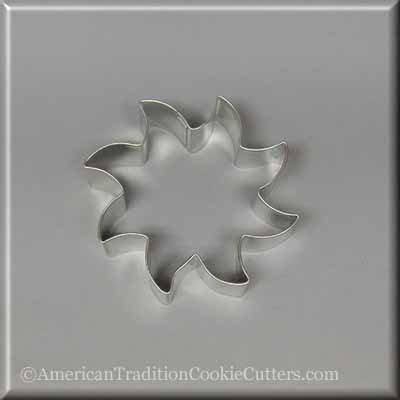 "3.5"" Sun Metal Cookie Cutter"