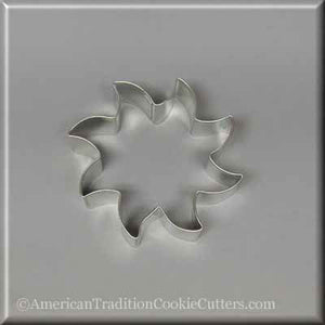 "3.5"" Sun Metal Cookie Cutter - American Tradition Cookie Cutters"
