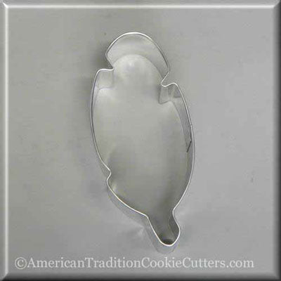 "4"" Feather Metal Cookie Cutter"