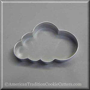 "4"" Cloud Metal Cookie Cutter - American Tradition Cookie Cutters"
