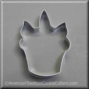 "4.25"" Unicorn Cupcake Metal Cookie Cutter-americantraditioncookiecutters"