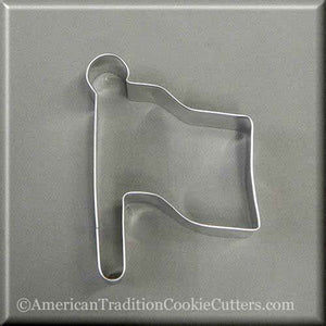 "4"" Flag Metal Cookie Cutter"