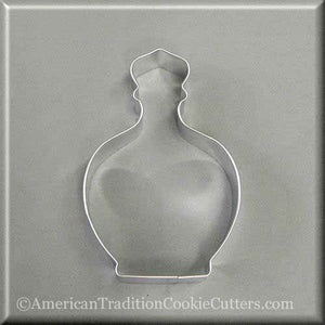 "4.25"" Perfume or Potion Bottle  Metal Cookie Cutter-americantraditioncookiecutters"
