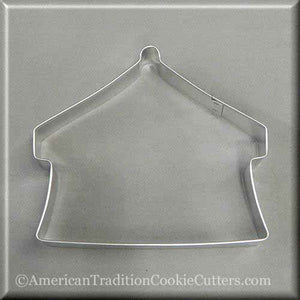 "4.5"" Circus Tent Metal Cookie Cutter-americantraditioncookiecutters"