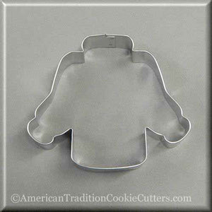 "4.25"" Ugly Sweater Metal Cookie Cutter"