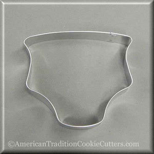 "4"" Baby Diaper Metal Cookie Cutter"