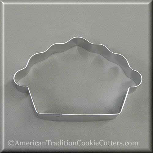 "4.5"" Pie Metal Cookie Cutter"