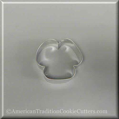 "3"" Three Petal Flower or Floppy Eared Puppy Dog Metal Cookie Cutter - American Tradition Cookie Cutters"
