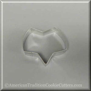 "3.5"" Talk Bubble Shaped or Fox Head Metal Cookie Cutter - American Tradition Cookie Cutters"