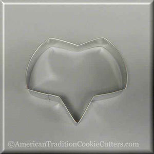 "4.75 ""Talk Bubble Shaped of Fox Head Metal Cookie Cutter-amerikaanse traditionele kokersnijders"