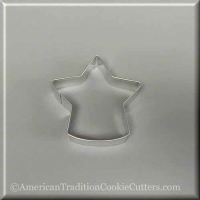 "3.5"" Standing Star Metal Cookie Cutter-americantraditioncookiecutters"