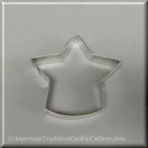 "4.75"" Standing Star Metal Cookie Cutter-americantraditioncookiecutters"