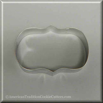 "5.5"" Plaque/Frame Metal Cookie Cutter"