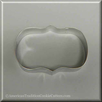 "5.5"" Plaque/Frame Metal Cookie Cutter-americantraditioncookiecutters"