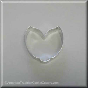 "3.75"" Tulip, Flower, or Ladybug Metal Cookie Cutter - American Tradition Cookie Cutters"