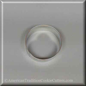 "2.5"" Round Circle Biscuit Metal Cookie Cutter"