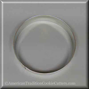 "4.5"" Round Circle Biscuit Metal Cookie Cutter"