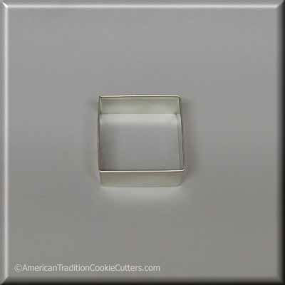"2"" Square Biscuit Metal Cookie Cutter"