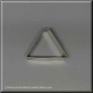 "2.5"" Triangle Biscuit Metal Cookie Cutter"