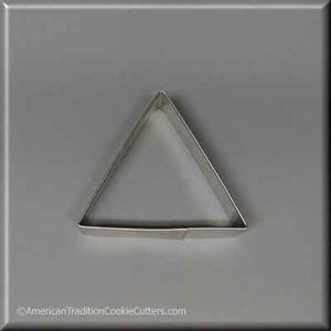 "3"" Triangle Biscuit Metal Cookie Cutter-americantraditioncookiecutters"