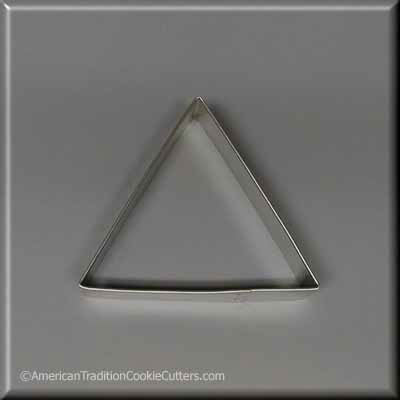 "3.5"" Triangle Biscuit Metal Cookie Cutter"