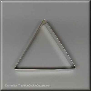 "4"" Triangle Biscuit Metal Cookie Cutter-americantraditioncookiecutters"