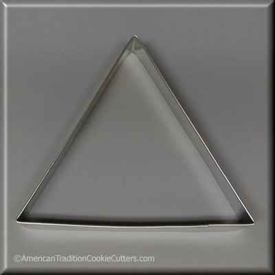 "5"" Triangle Biscuit Metal Cookie Cutter"