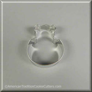 "3.5"" Sitting Teddy Bear Metal Cookie Cutter - American Tradition Cookie Cutters"