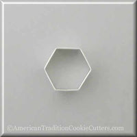 "2 ""Cutter Cookie Metal Hexagon - Κόφτες Cookie American Tradition"