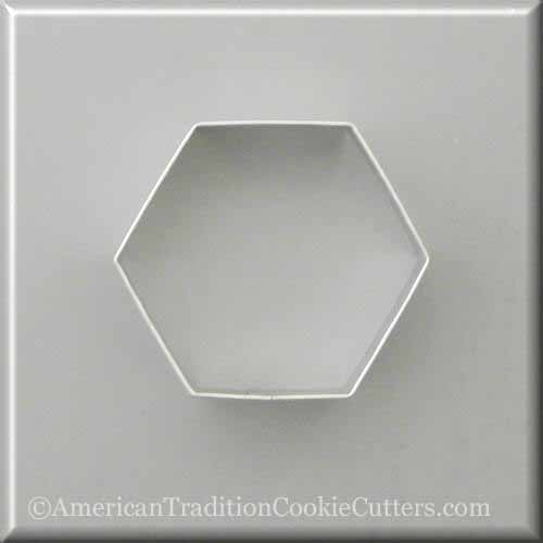 "3.5 ""Cutter Cookie Metal Hexagon - Κόφτες Cookie American Tradition"