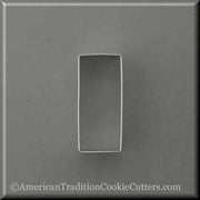 "3"" Cookie Stick Metal Cookie Cutter - American Tradition Cookie Cutters"